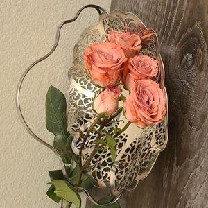 Vintage Polished Brides Basket